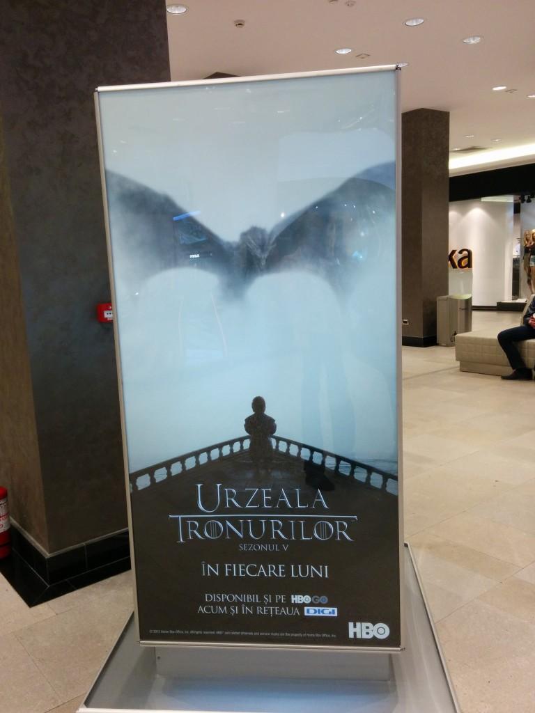 Reclama HBO Iulius Mall | Cezar Andrici
