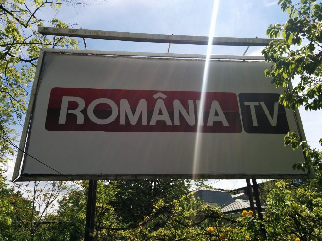 Reclama Romania TV pe copou | Cezar Andrici